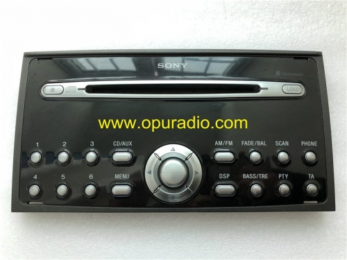panel frontal para radio CD SONY 6 FoMoCo Ford Focus Mondeo C-MAX MK3 audio del automóvil