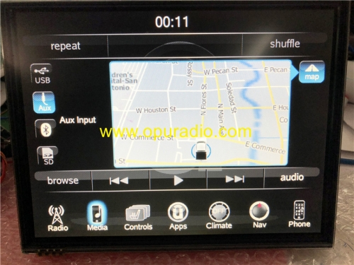 VP3 VP4 Placa base Placa base con MAP para Jeep Chrysler Dodge Ram navegación del automóvil Audio Medios Versión EE. UU.