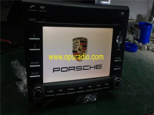 PORSCHE 911997997.2 BOXSTER CAYMAN NAVEGATION GPS PCM3 HEAD UNIT Harman Becker RADIO ESTÉREO