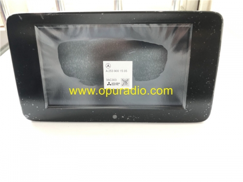 A2539001505 Zentral Display Mitsubishi Monitor Information para 2020 Mercedes W253 GLC Class Car Audio Media
